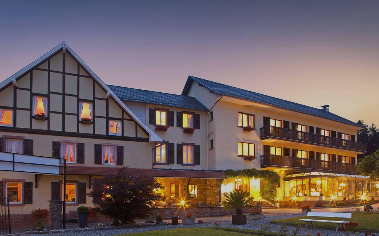 Site Internet de l'hôtel Parc Hotel Alsace